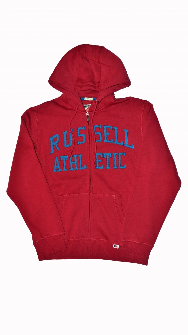 RUSSEL A5-002-2-454 ZIP THROUGH HOODY WITH TACKLE
