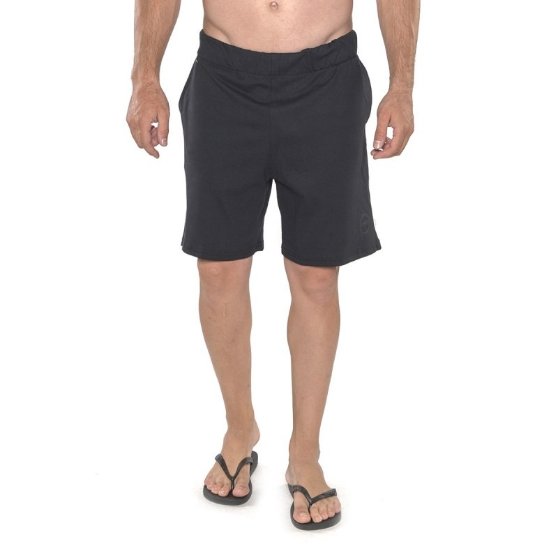GSA SUPERCOTTON JERSEY SHORTS 1718041-JET BLACK